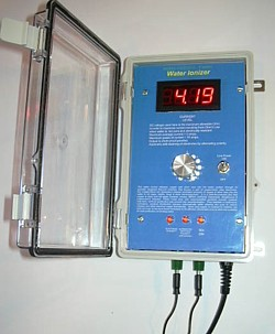 Disinfection water ionizers for commercial industrial use - Swimming pool ionizer ...